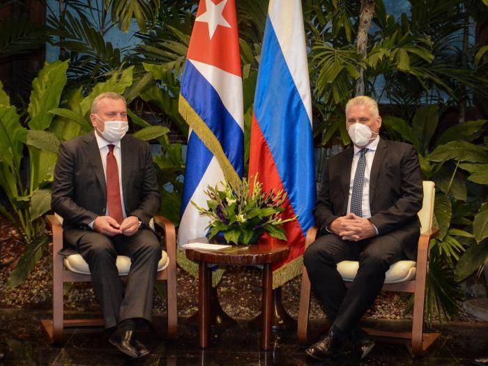 Pondera presidente cubano excelente estado de relaciones políticas con Rusia