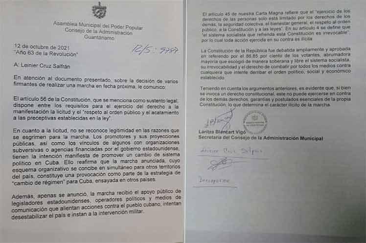 Cuba contra los intentos de desestabilización