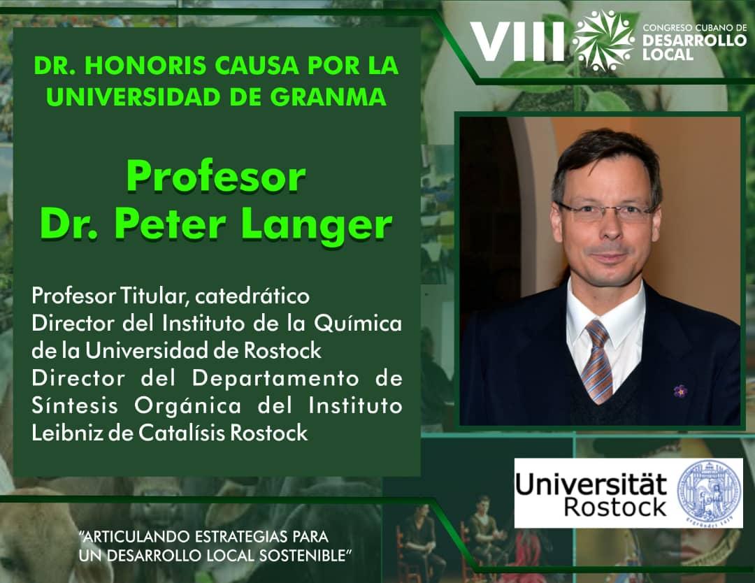 Confiere Universidad de Granma Título de Doctor Honoris Causa a prestigioso profesor alemán (+fotos)