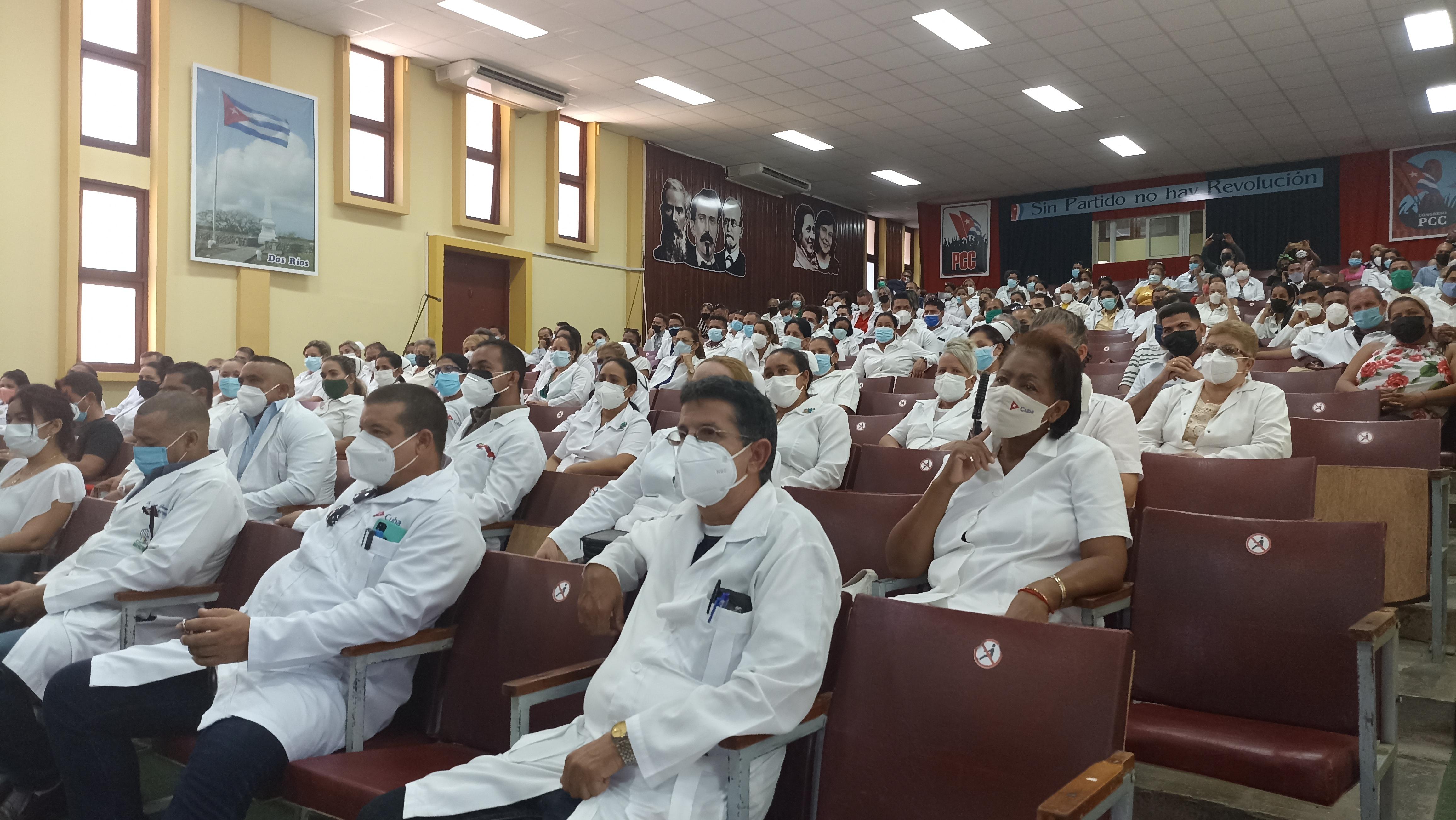 Trabajadores del sector de la salud reafirman su apoyo al proceso revolucionario