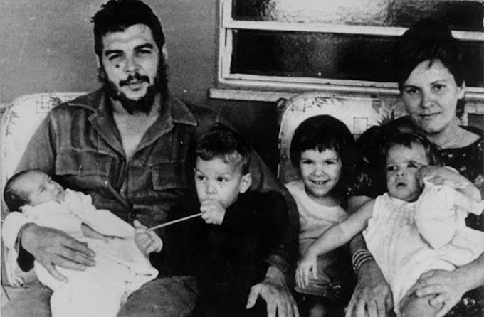 El Che familiar y hogareño