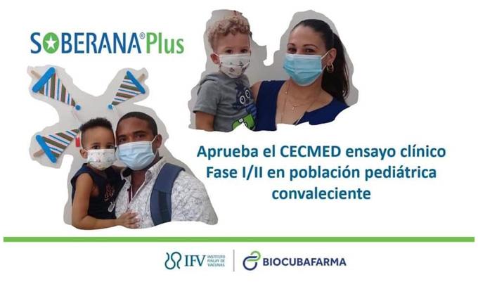 Cuba avanza estudio con menores convalecientes de Covid-19